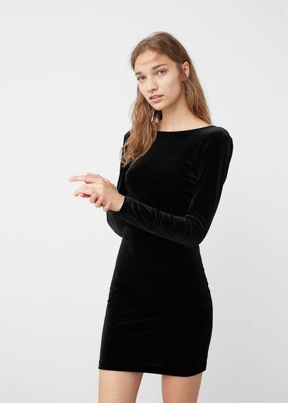 Vestido terciopelo 23€