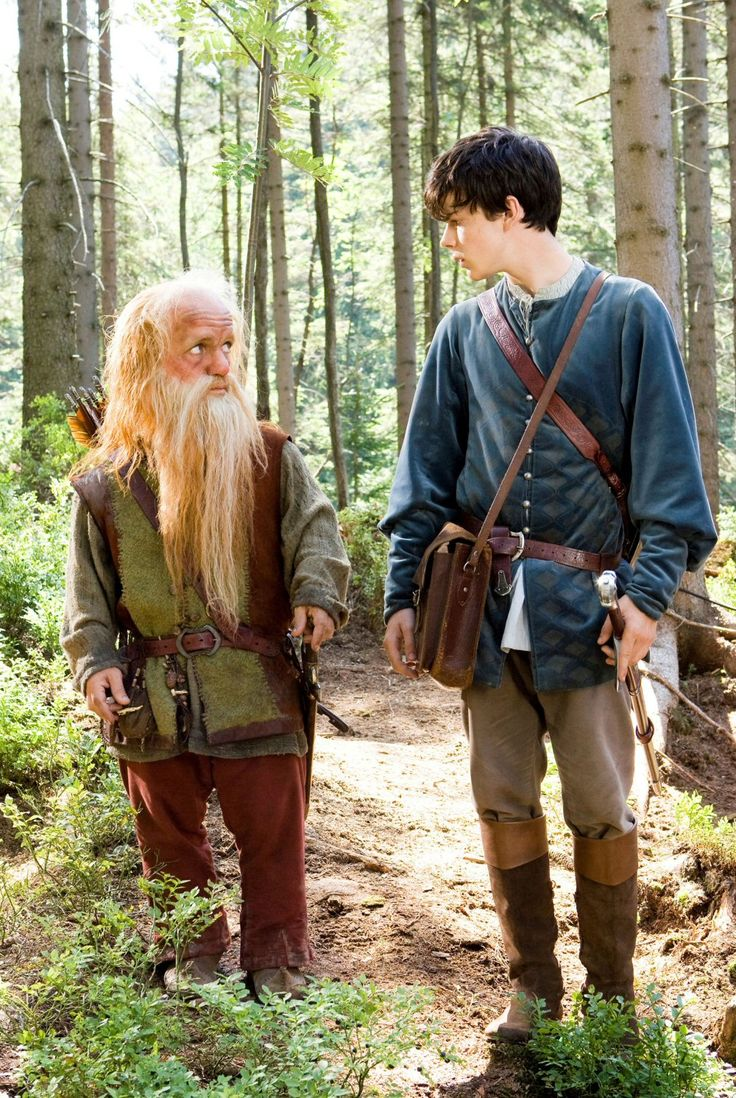The best parts of Prince Caspian. Right here. (Aside from the villain who was SPECTACULAR)