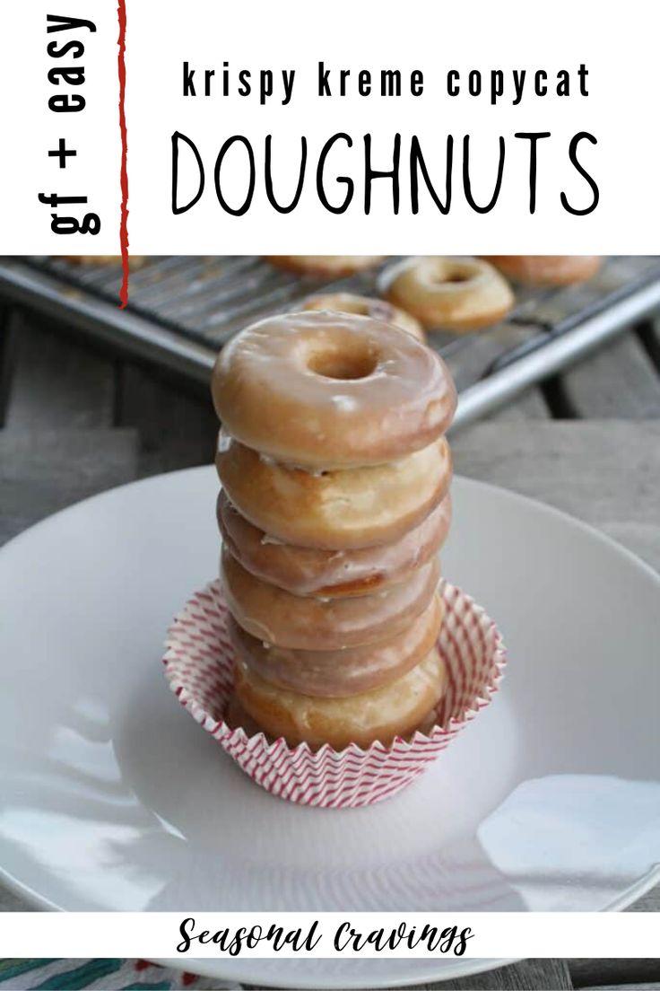 Gluten Free Doughnuts (Krispy Kreme Copycat) · Seasonal