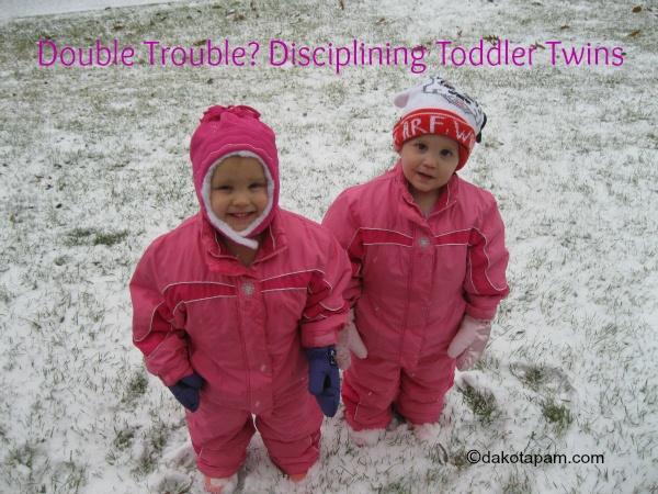 Disciplining Toddler Twins.