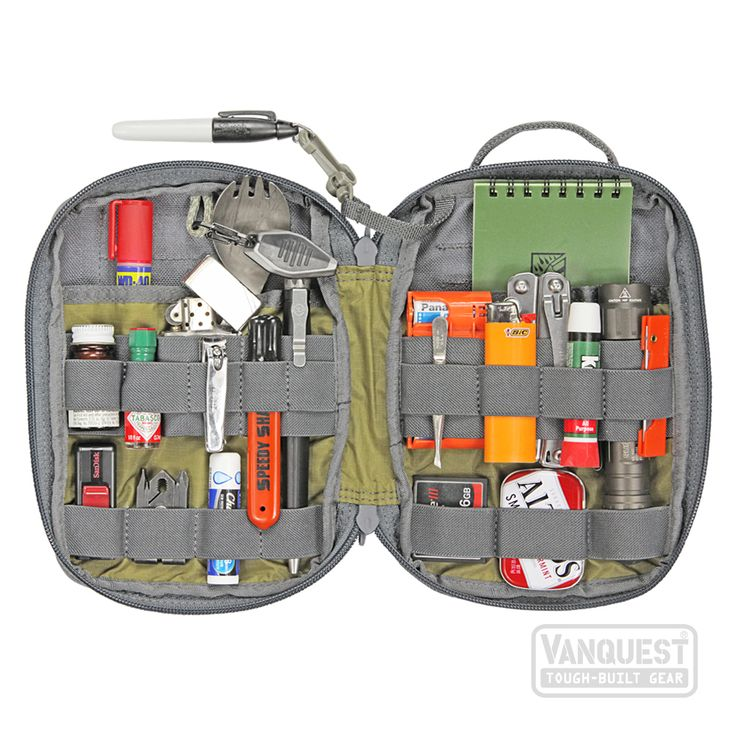 EDCM-SLIM: EDC Maximizer™ Organizer - VANQUEST: TOUGH-BUILT GEAR