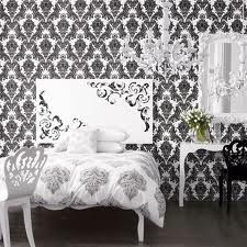 Black and White Bedroom!