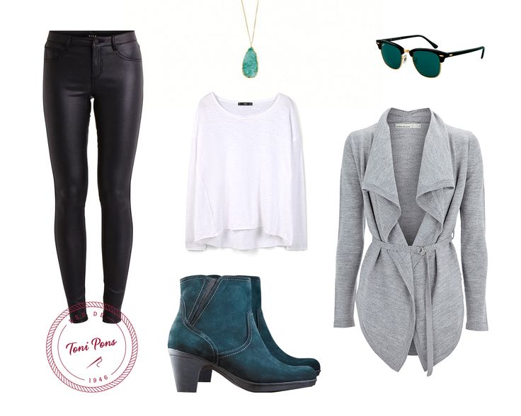 Outfit with green leather boots www.tonipons.cat #outfit #winter #boots #green