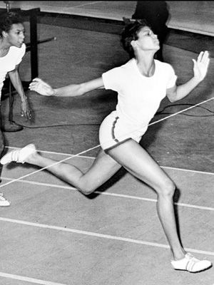 Fitness Inspiration: Born in 1940, Wilma Rudolph overcame great obstacles during her childhood to become a world class track and field athlete. She won three gold medals in the 1960 Olympic Games and became the first black woman to achieve such Olympic success.