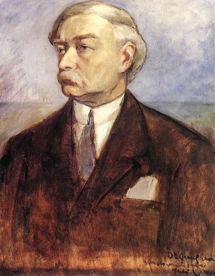 Béla Iványi-Grünwald, Self-portrait, ca. 1903.