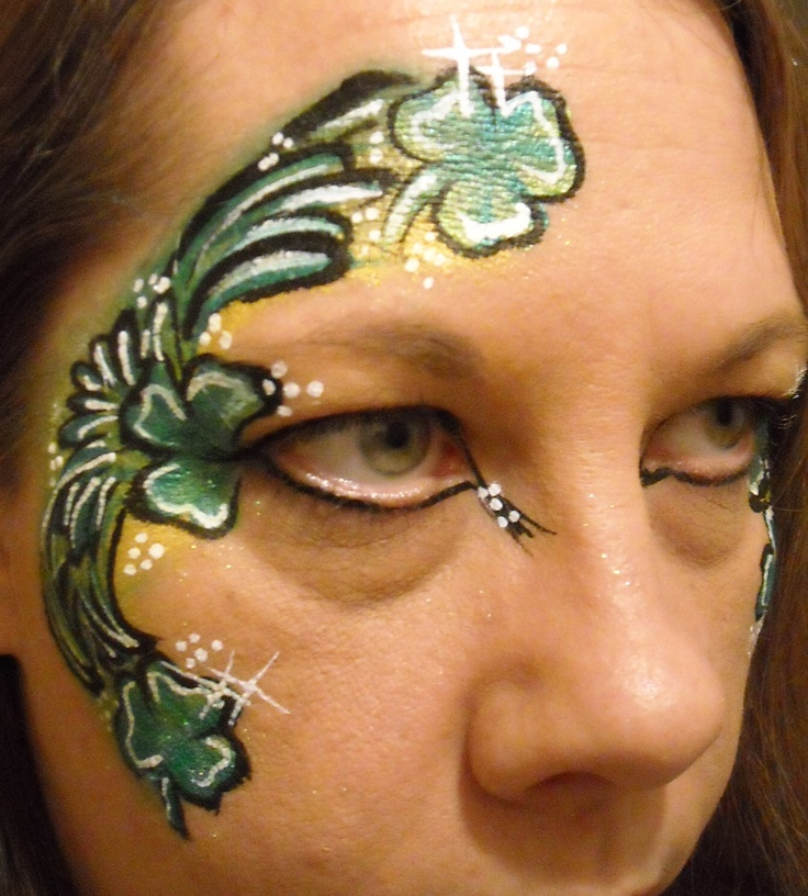 Henna Tattoo Upland Ca : Best images about st patrick s day face painting on