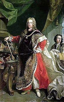 Karl VI 1685-1740, dt-römischer Kaiser, König von Österreich, Böhmen, Ungarn und Kroatien