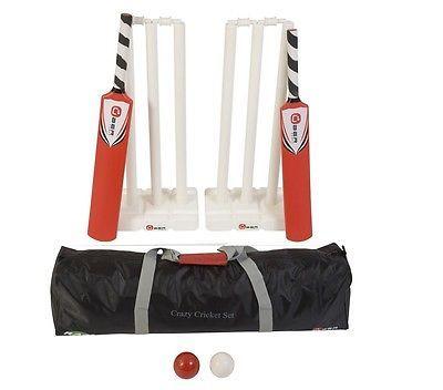 New crazy #cricket set plastic #cricket equipment #beach #cricket bats #balls stump,  View more on the LINK: http://www.zeppy.io/product/gb/2/262175232245/