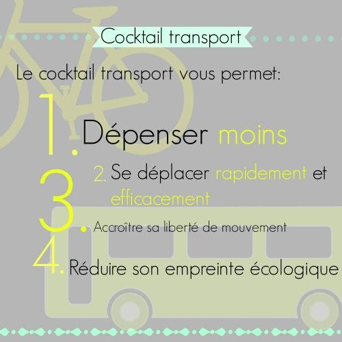 Affiche pub cgd cocktail transport