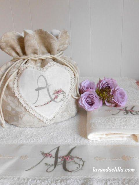 Lavanda e Lillà: Asciugamano e Beauty