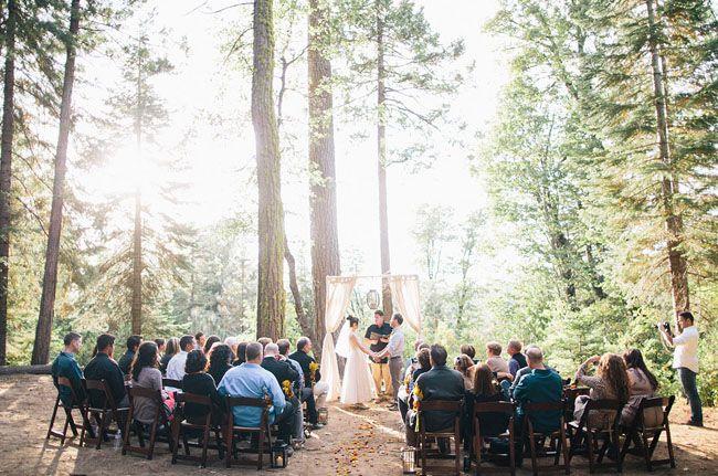 DIY Yosemite Wedding: Brianne + Louie   Green Wedding Shoes Wedding Blog   Wedding Trends for Stylish + Creative Brides