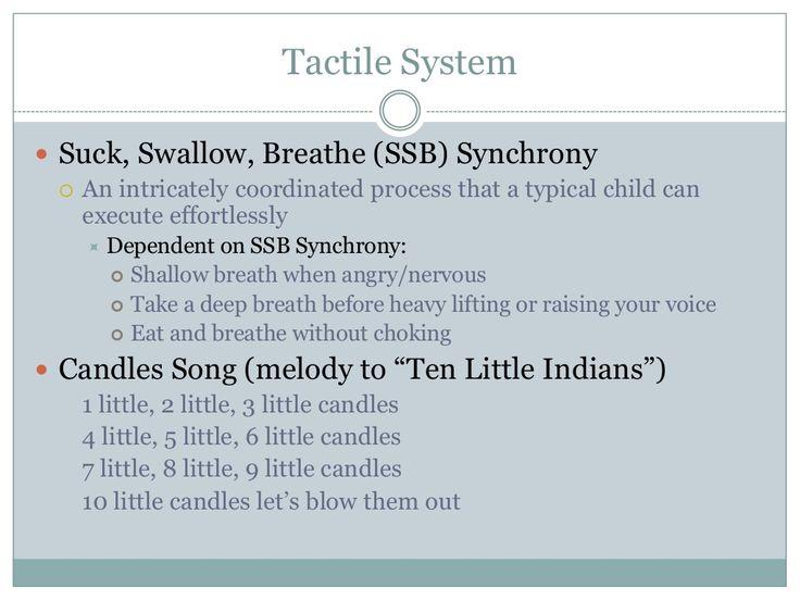 Suck swallow breath synchrony