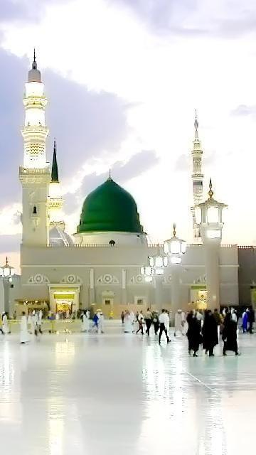 Masjid Nabawi AlMadeenah AlMonawara ❤ اللهم ارزقنا صلاةً في الروضة الشريفة