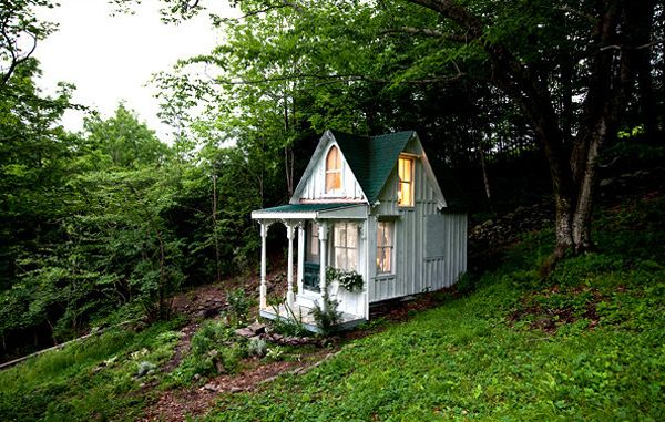 a Small house in Minnesota