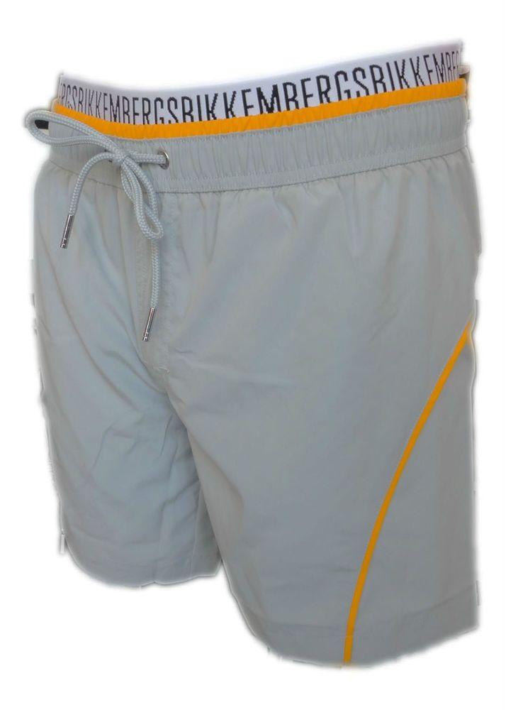 Costume Bikkembergs Boxer mare uomo da Bagno grigio men shorts suit HOMME