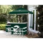 Best of Times New York Jets All-Weather Patio Bar Set with 6 ft. Umbrella