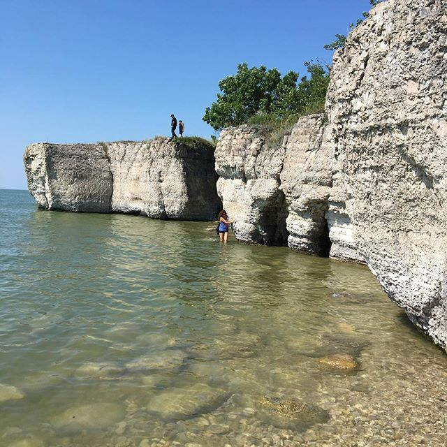 Goats on an island and amazing rock formations to explore - Steep Rock is located 2.5 hrs north of Winnipeg and is a MUST VISIT location! Read all about it on the blog! Link in bio! #explorethe204 #explorenewplaces #exploremanitoba #explorecanada #lovewhereyoulive #lovewhereyoulivemb #steeprock #goatsonanisland #itsbeautifulhere #mustsee #itfeelstropical #kayaking #fishingmb #hikingadventures