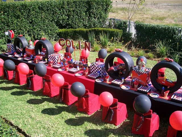 Pixar Cars Birthday Theme - Im thinking a little over the top for a 3 year olds birthday!! haha...