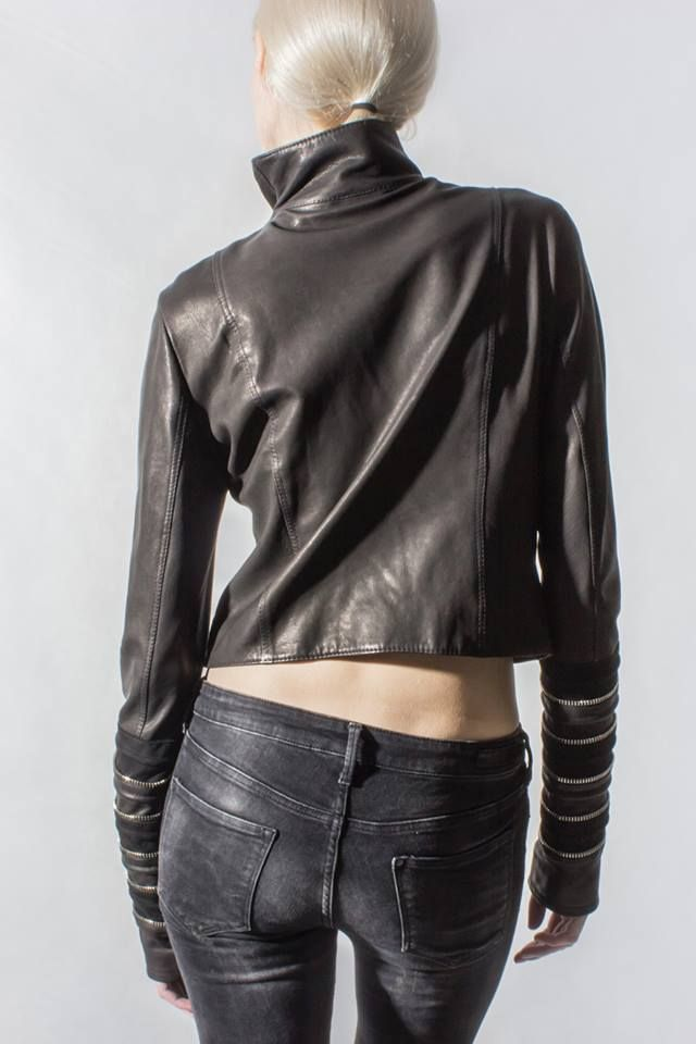 "Catch up with ZAYDER's ""Pillaresque""  #leatherjacket #zayder"