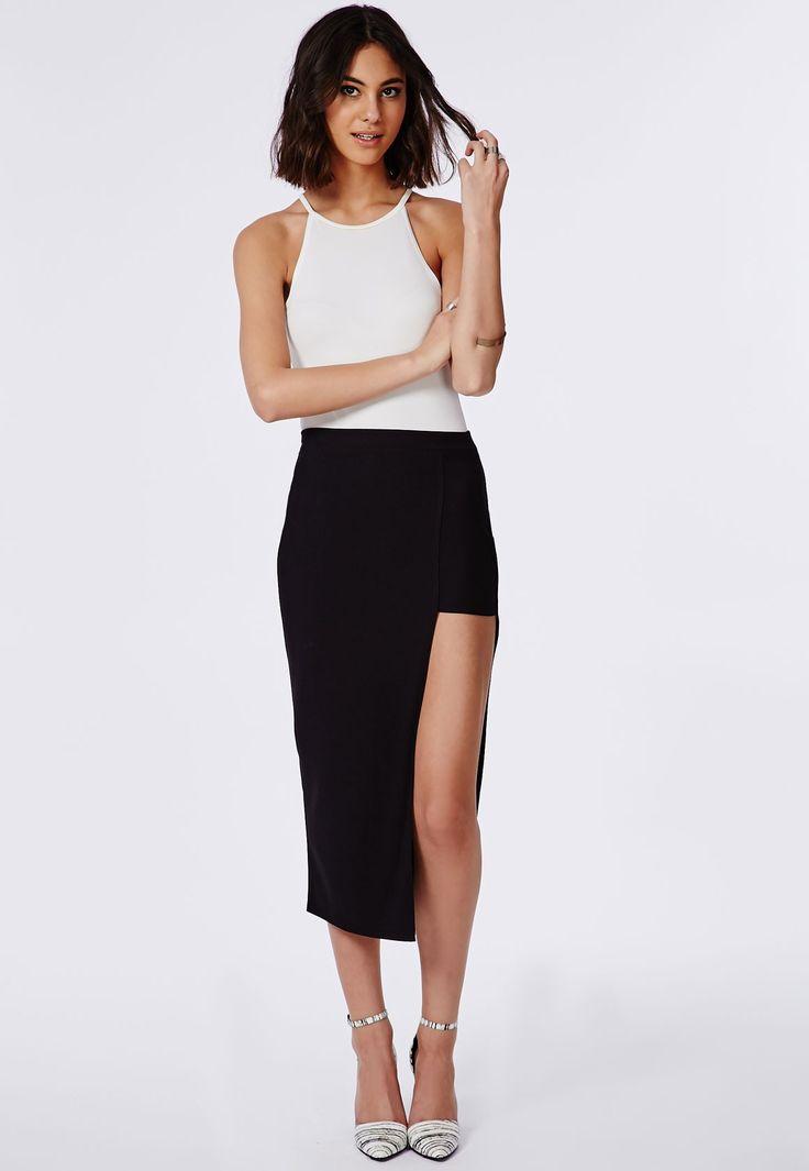 sexy-black-skirt