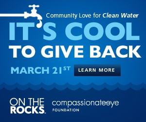 On The Rocks Ice Hosted Fundraiser Event: Come out and enjoy some live entertainment and drinks! #communitylove #cooltogive #charity #fundraiser #cool #water