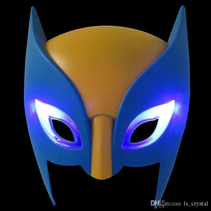 cat eye masquerade masks, cat mask masquerade and cat masks are wholesaled here. All the products are frees shipping from China. wolverine cartoon anime kids mask pvc half face shiny birthday party mask hot sale children cosplay mask with light 10pcs/lot sd346 discount which provided by ls_crystal can be discount.