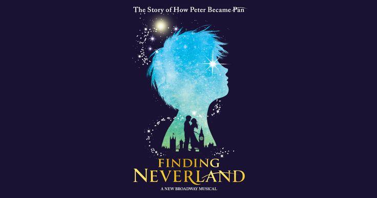 Discover the story of how Peter became Pan in FINDING NEVERLAND.