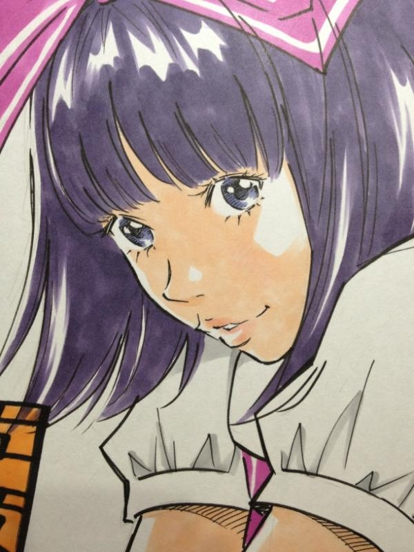 Twitter / EISAKUSAKU: 色紙をサラサラ。