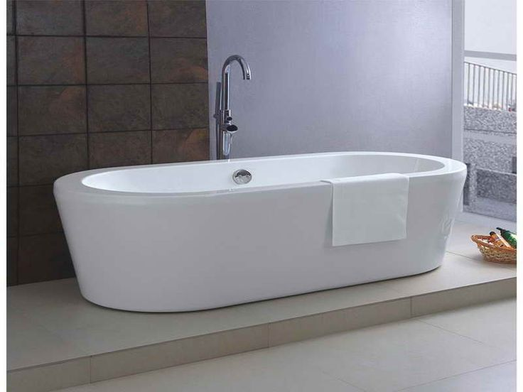 Standard bathtub size freestanding bath http for Soaking tub sizes