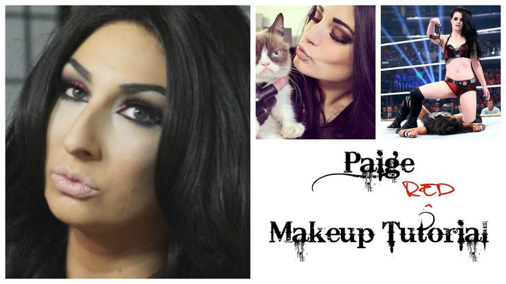 WWE Paige Makeup | Total Divas | SummerSlam 2014