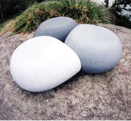 The Aura Pebble is an award winning modular seat specifically designed for outdoor environments available in a range of unique stone effect finishes resembling giant pebbles. http://www.zenithinteriors.com.au/product/1173