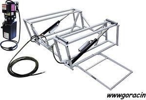 Image is loading GoRacin-Com-Portable-Hydraulic-Race-Car-Lift-with-