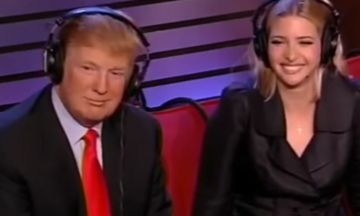 Watch Trump Say 'True' laughing and leaning into his daughter; When Called A Sexual Predator In 2006 | Huffington Post