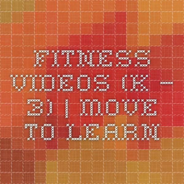 videos de Move To Learn 15 minutos activos Póngale vida