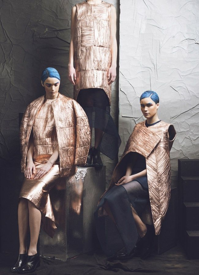 Atelier Kikala, Collection:  The Future Awaits Us, AW 2014-2015