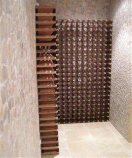 Custom wine rack project 5