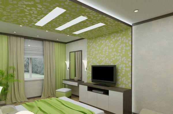 Chambres: podshivnoy origine de plâtre de plâtre
