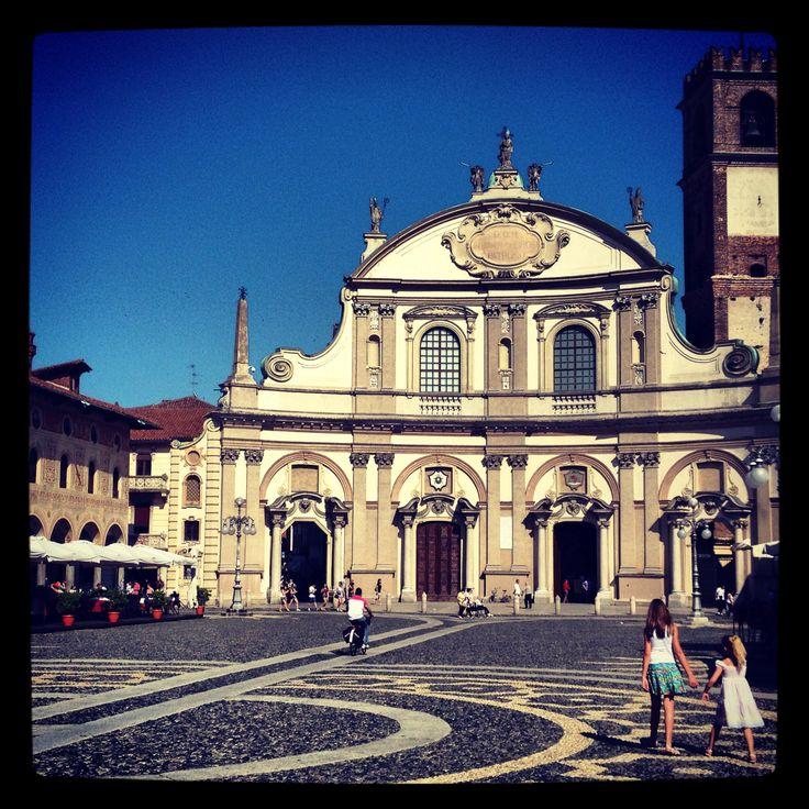 Piazza di Vigevano (Italia)