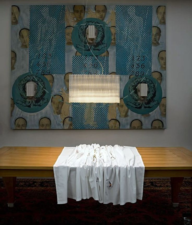 Check-out our extraordinary selection of lamps with decorated lamp shades | Plissé lamp, Inga Sempé, Luceplan, 2007