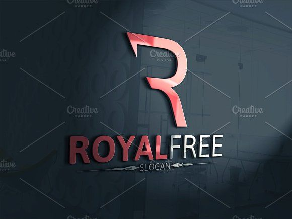 Royal Free / R Letter Logo by Josuf Media on @creativemarket