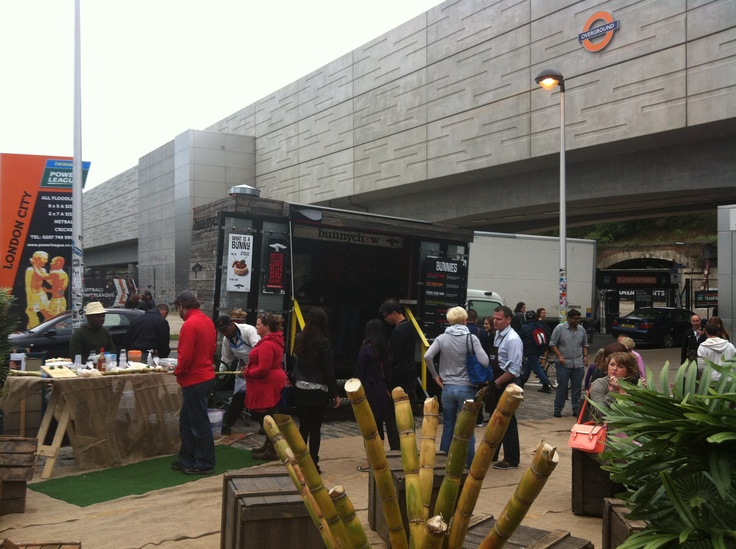 Box Park @ Shoreditch www.bunnychow.com