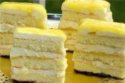 17. Лимонные пирожные