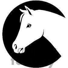 girl horse silhouette - Google-Suche