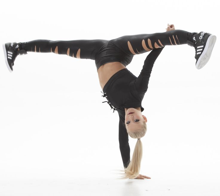 Tear leggings - perfect for hip hop dance costumes!