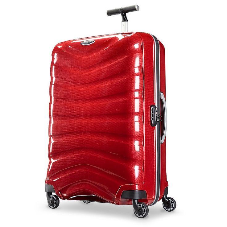 Samsonite - Firelite Chilli Red Spinner Case 81cm | Peter's of Kensington
