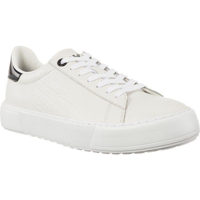 Polbuty Damskie Ea7emporioarmani Biale Ea7 Emporio Armani Classic Fashion Low U Ea7 Emporio Armani White Sneaker Emporio Armani Armani