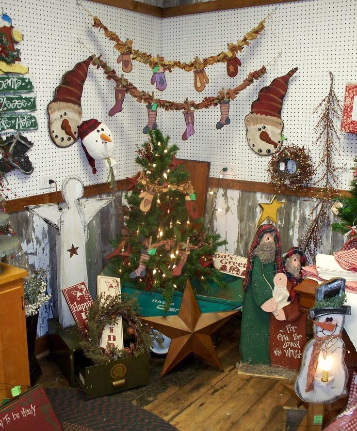 Country Christmas Decor | Country Corner Craft & Antique ...