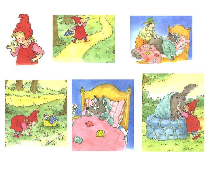 verhaal | Daarbij mailde ze ons ook de bijlagen: Sneeuwwitje Roodkapje Masker ...