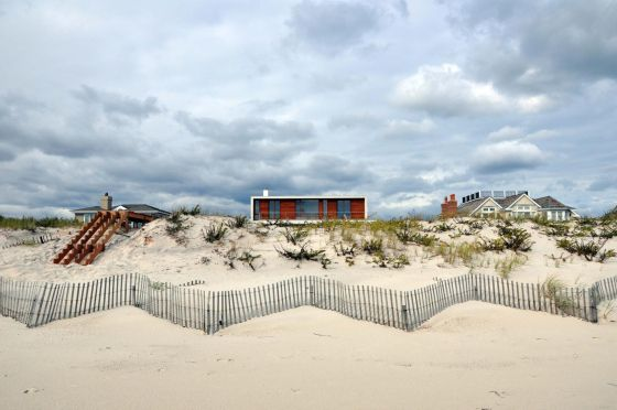 Moderna beach house en los Hamptons new york hamptons decoración estilo diseño decoración americana madera decoración diseño interiores hamp...
