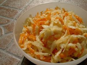 Feketeretek-s.répa saláta